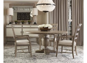 Westbourne Sand Round Dining Table