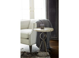 Westbourne Sand Round End Table