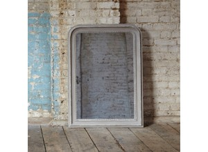 Wilton Carlyle Beaded Grey Mirror