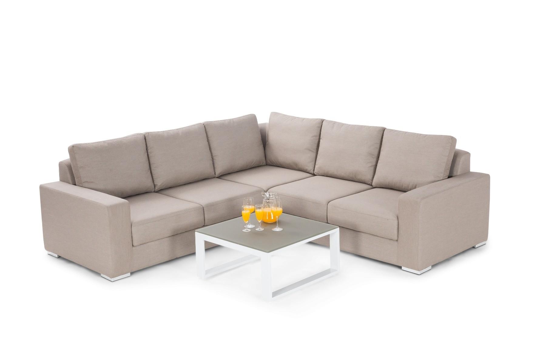 Curacoa Outdoor Corner Sofa Set Hadley Rose