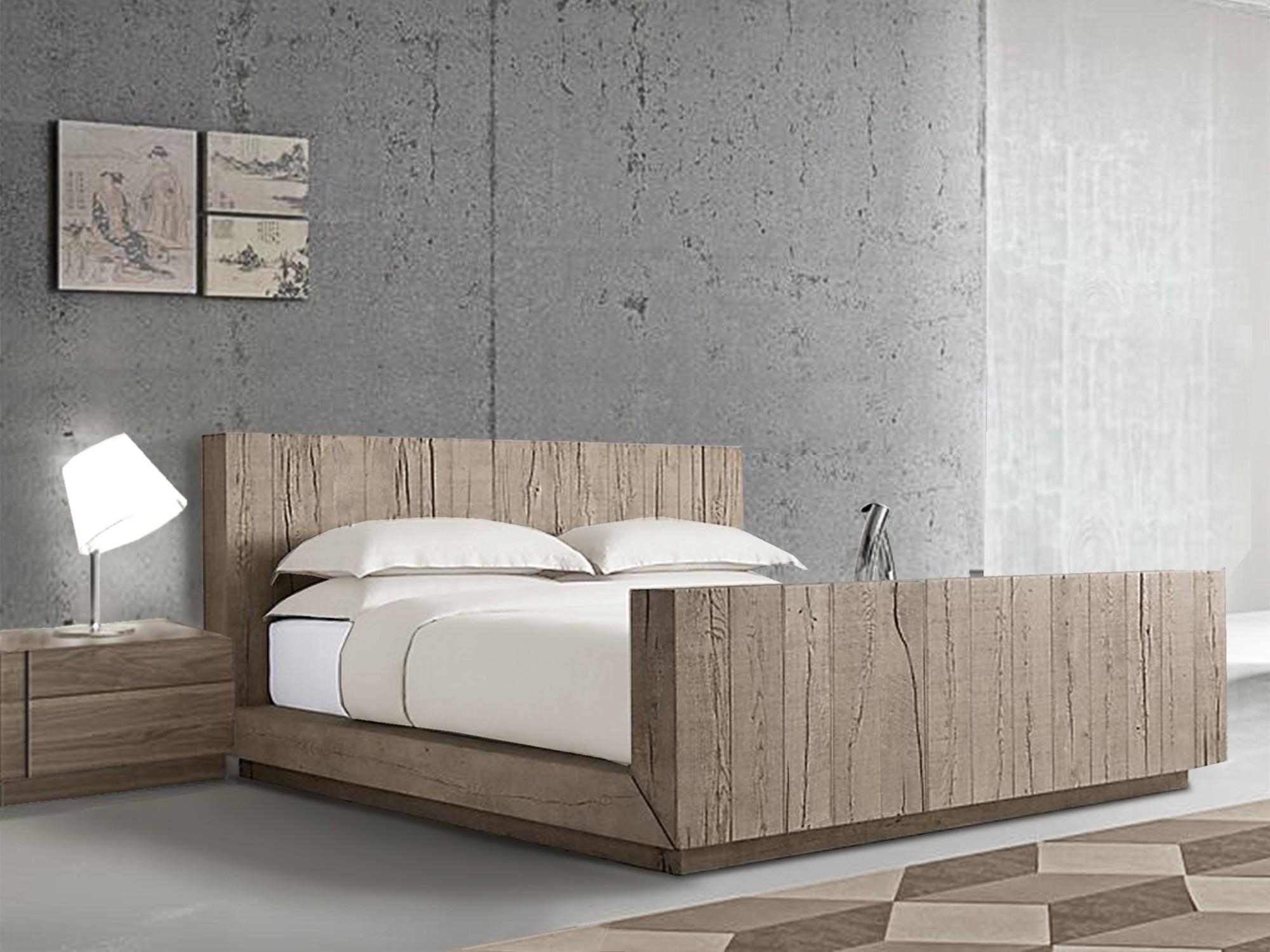 Verbier Luxury Wooden Bed   Bespoke Bed   Hadley Rose